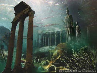 atlantis lost city Top 10 Teori Tentang Misteri Segitiga Bermuda